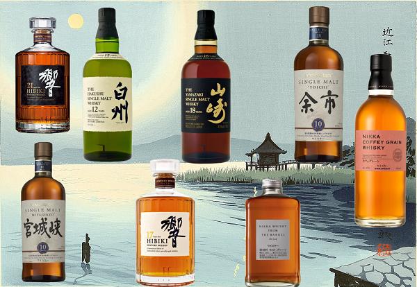 Whisky Nikka Japonais