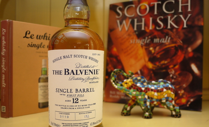 ... barrel first fill aged 12 years the balvenie single barrel first fill