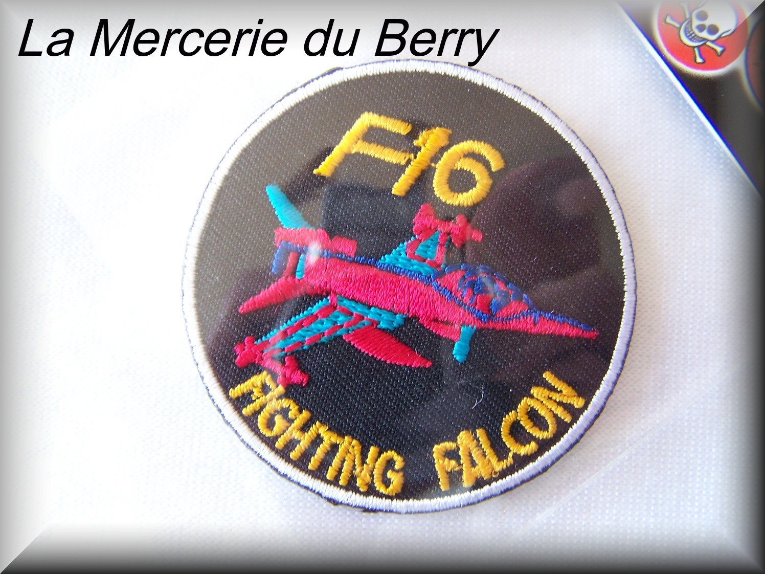 Ecusson avion F16