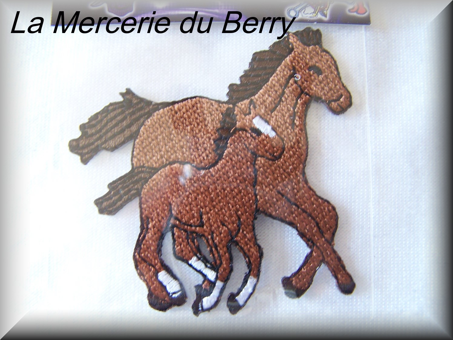 Ecusson cheval