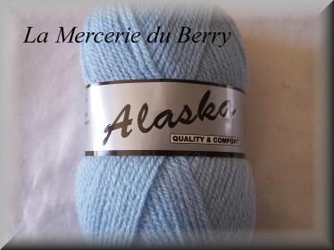 Laine Alaska, bleu