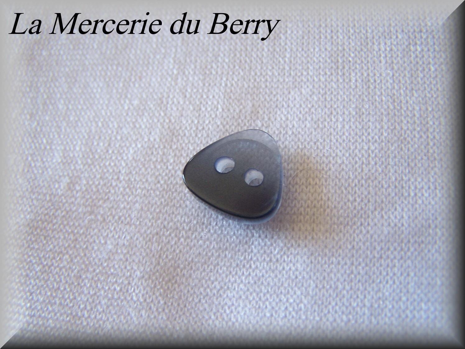 Bouton bleu marine 14 mm