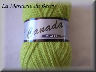 Laine Canada, vert