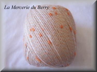 Coton à tricoter, beige