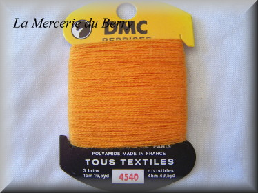 Coton à repriser, orange