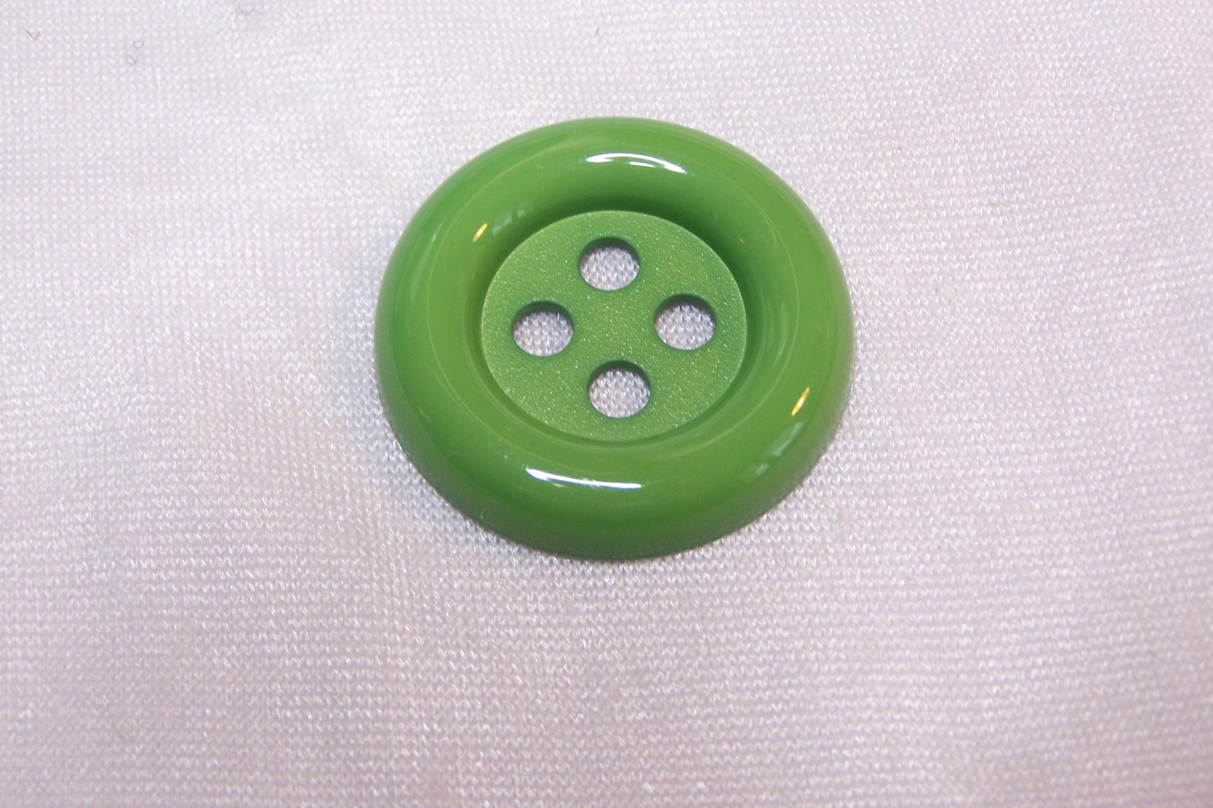 Bouton clown, vert