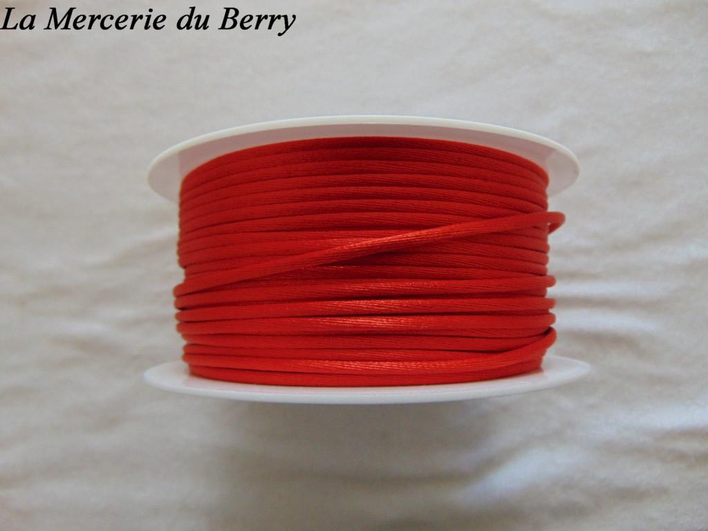 Cordon queue de rat, rouge