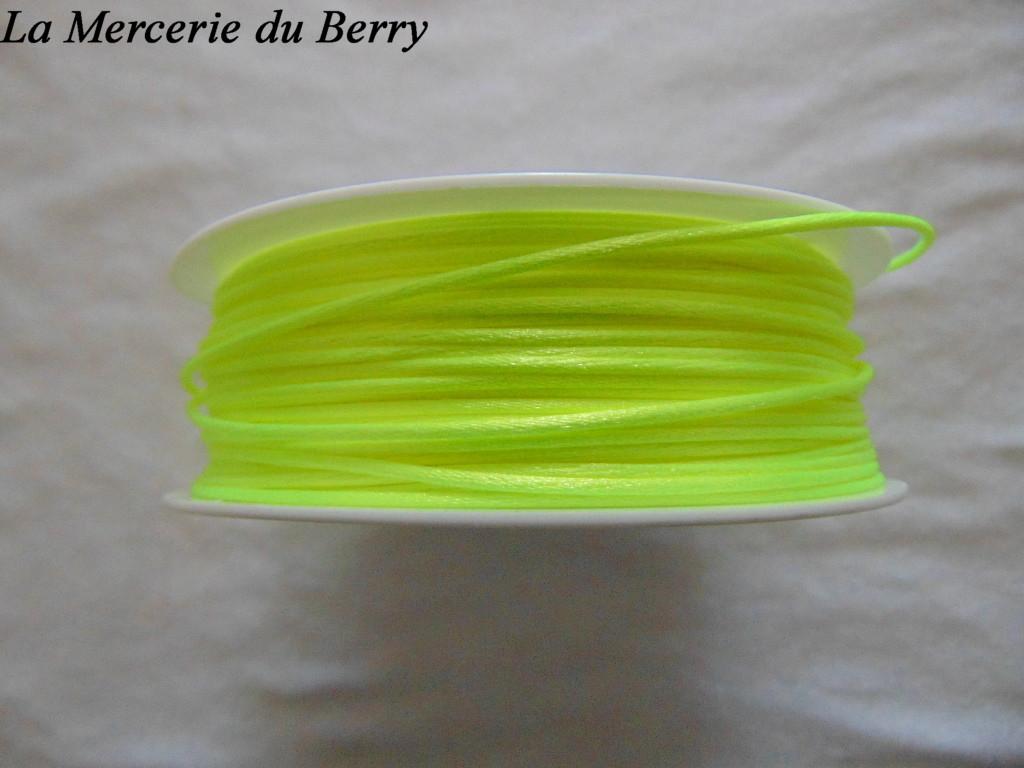 Cordon queue de rat, jaune fluo