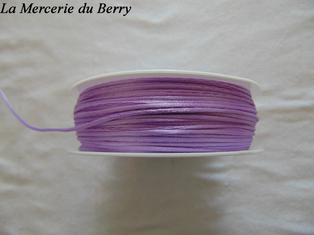 Cordon queue de rat, violet clair