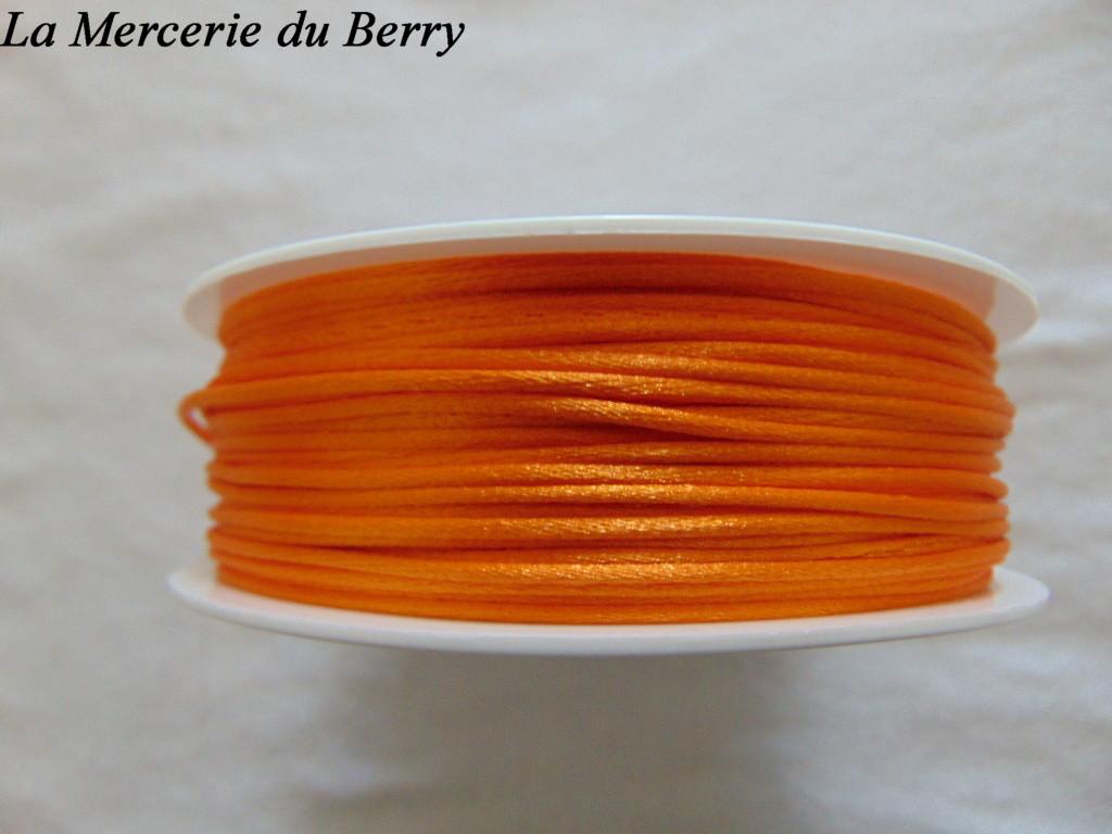 Cordon queue de rat, orange clair