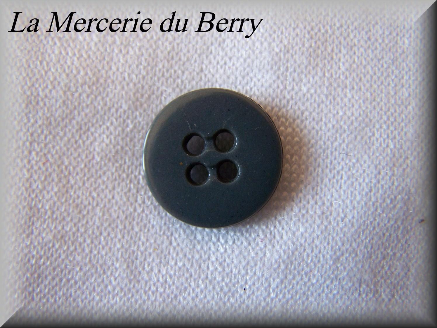Bouton gris anthracite