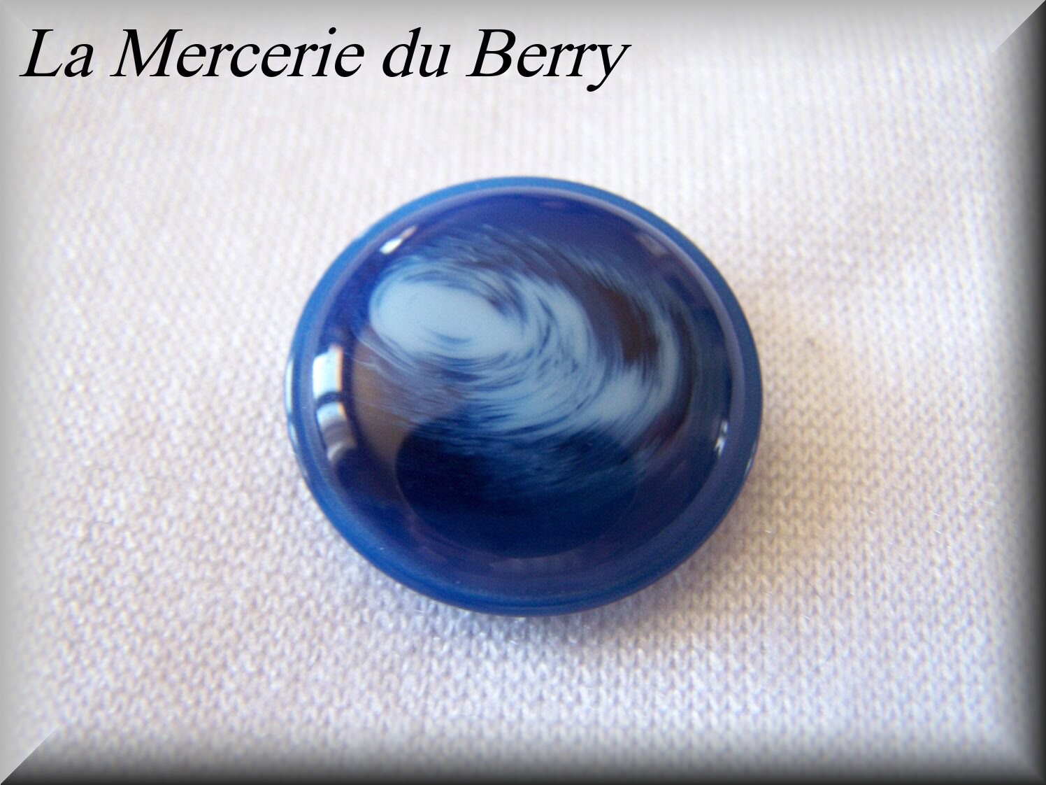 Bouton bleu roy