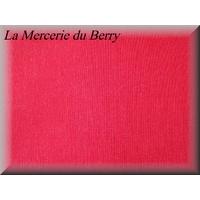 Tissu coton, rouge