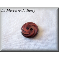 Bouton bordeaux 12 mm