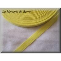 Sergé coton, jaune paille
