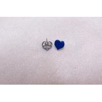 Clou en forme de coeur, bleu
