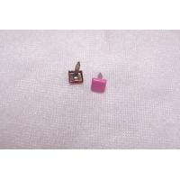 Clou en forme de carré, rose