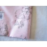 Motif enfant sur fond rose