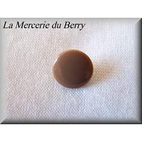 Bouton marron, 12 mm