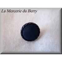 Bouton bleu chaloupe, 15 mm