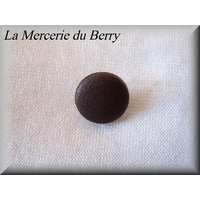 Bouton marron, 14 mm