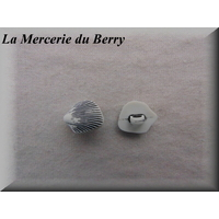 Bouton coquillage