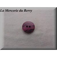 Bouton rose, 18 mm