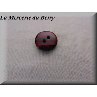 Bouton rouge, 18 mm