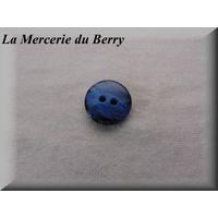 Bouton bleu, 18 mm