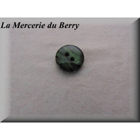 Bouton vert, 18 mm