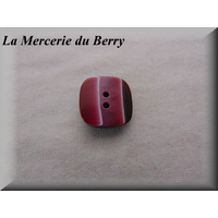 Bouton bordeaux, 23 mm