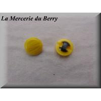 Bouton jaune, 15 mm
