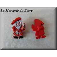 Bouton Père Noël