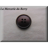 Bouton prune, 22 mm