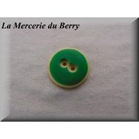 Bouton vert, 22 mm
