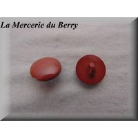 Bouton prune, 18 mm