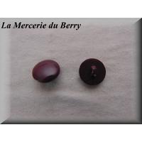 Bouton violet, 18 mm