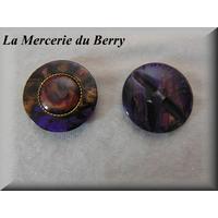 Bouton violet