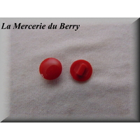 Bouton rouge, 12 mm