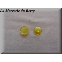 Bouton jaune, 14 mm