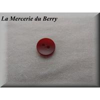Bouton rouge carmin