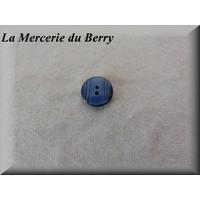 Bouton bleu marine