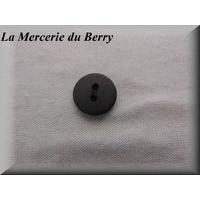 Bouton marron, 15 mm