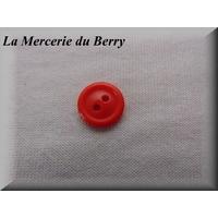 Bouton rouge vermillon