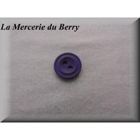Bouton mauve, 14 mm