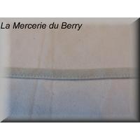 Ruban type lacet, gris clair