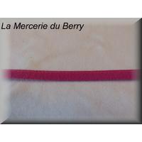 Ruban type lacet, prune