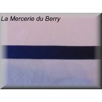 Ruban élastique, bleu marine