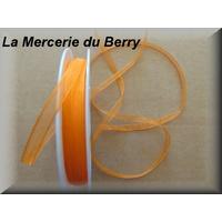 Ruban mousseline, orange
