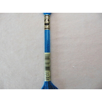 Mouliné Effet Lumière DMC n° E3843, bleu piscine